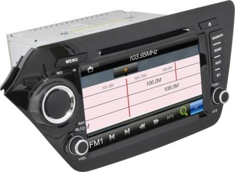 Головное устройство Kia Rio - Swat SHR-4032RO