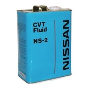 Жидкость для вариаторных АКПП Nissan  CVT NS-2 4л KLE52-00004 (Япония)
