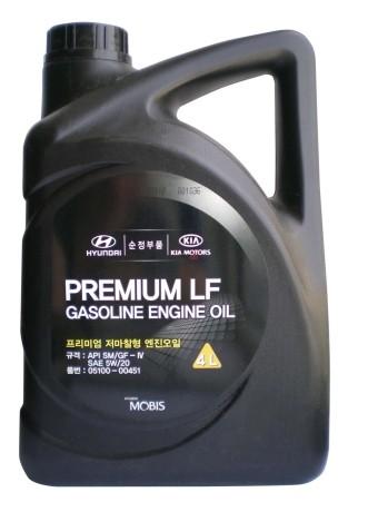 Масло моторное Hyundai 05100-00410 Super Extra Gasoline SL/GF-3 5w30 (4л)