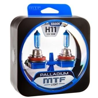 Лампы MTF Palladium H11 (12v, 55w, HPA1211, 2шт.)