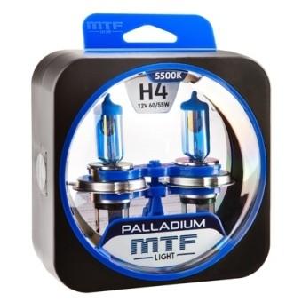 Лампы MTF Palladium H4 (12 V, 55/60 W, 2 шт)