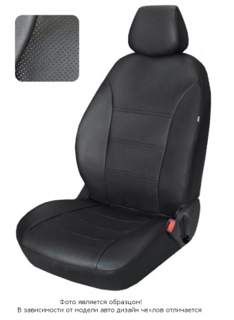 Чехлы  Mitsubishi Lancer 03-> S черный аригон БРК