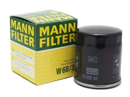 Фильтр масляный MANN-FILTER W 68/3