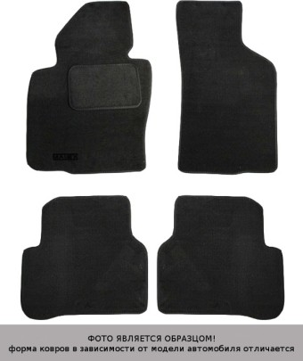 Коврики Chevrolet Aveo 2012-> текстиль графит Matex