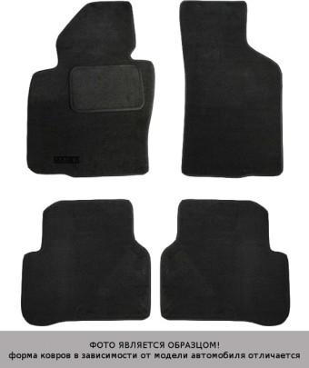 Коврики VW T-4 (перед.3-пассаж.) 90-> текстиль графит Matex