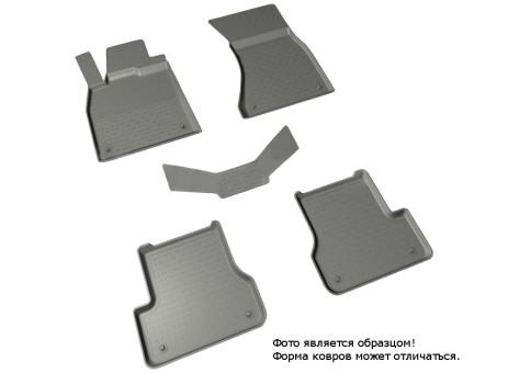 Коврики Audi A6 2011-> - резиновый с выс. борт. (Seintex)   86698