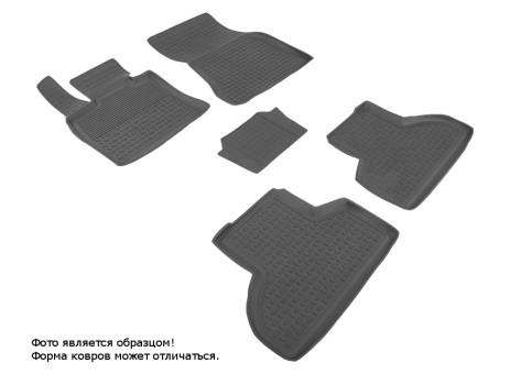 Коврики BMW X5 (F15) 2013-> резиновый с выс. борт. (Seintex)   86733