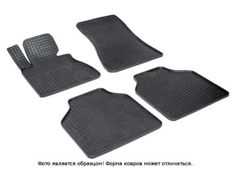 """Коврики BMW 7 (E66L) 2001-2008 г. - резиновый """"Сетка"""" (к-т) (Seintex)   00982"""