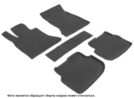Коврики BMW 5 (F10) 2009-2013 г. - резиновый с выс. борт. (Seintex)   86393
