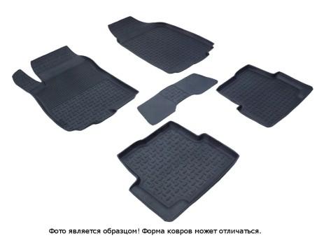 Коврики Chevrolet Aveo 2012-> резиновый c выс. борт. (Seintex)