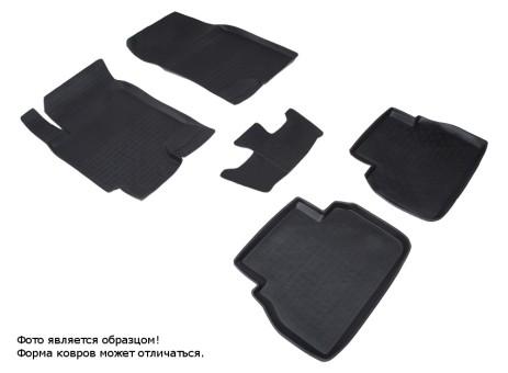 Коврики Chevrolet Epica 2006-2012 г. - резиновый с выс. борт. (Seintex)