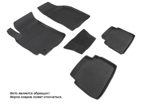 Коврики Chevrolet Lacetti 2004-2013 г. - резиновый с выс. борт. (Seintex)   00978