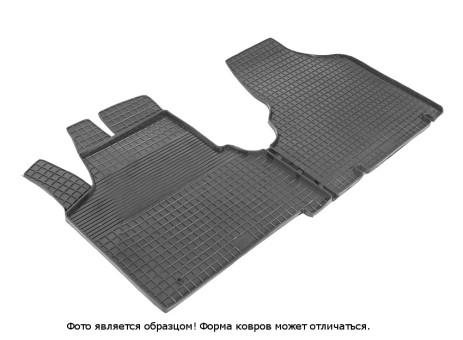 """Коврики Citroen Jumpy/Peugeot Expert/Fiat Scudo 2007-> - резиновый """"Сетка"""" (к-т) (Seintex)   86170"""