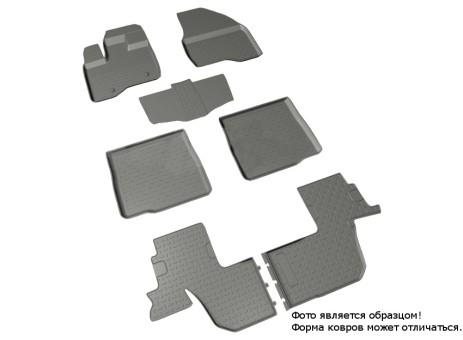 Коврики Ford Explorer 2011-> резиновый с выс. борт. (Seintex)