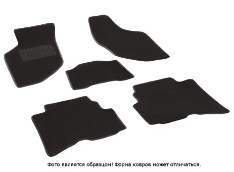 Коврики Great Wall Hover 2005-2010 г. - ворс Lux на рез. осн. (Seintex)   83148