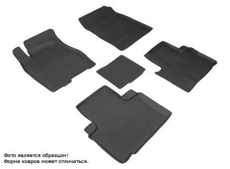 Коврики Great Wall Hover H6 2013-> резиновый с выс. борт. (Seintex)