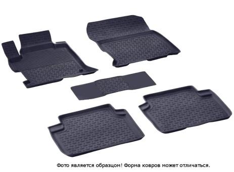 Коврики Honda Accord IX 2013-> резиновый с выс. борт. (Seintex)   84849