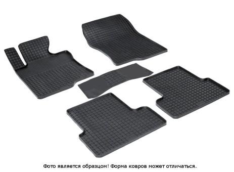"""Коврики Honda Accord VIII 2008-2013 г. - резиновый """"Сетка"""" (к-т) (Seintex)"""