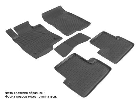 Коврики Honda Accord VIII 2008-2013 г. - резиновый с выс. борт. (Seintex)