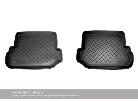 Коврики VW Caddy Зад 04-> борт. чер АВС