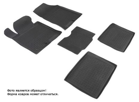 Коврики Hyundai I40 11-> - резиновый с выс. борт. (Seintex)   83188