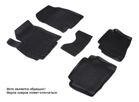 Коврики Hyundai i20 08-12г резиновый с выс. борт. (Seintex)
