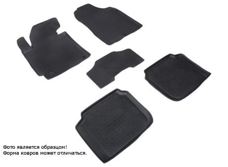 Коврики Hyundai Elantra V 2011-> резиновый c выс. борт. (Seintex)