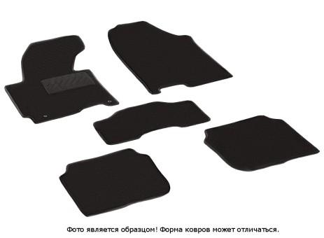 Коврики Hyundai Elantra V 2011-> ворс Lux на рез.осн. (Seintex)