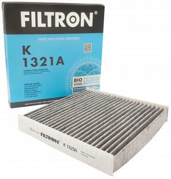 Фильтр салонный Filtron K 1321A (CUK 22 011) угольный
