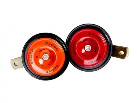 Сигнал звуковой Segar 1017 дисковый (d90, 12 В, 2 шт)