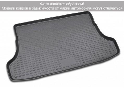Коврик багажника Peugeot 3008  10-> борт. чер НЛ