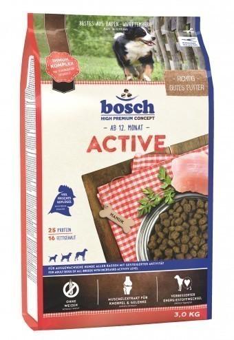 Сухой корм для собак Bosch Active, 3 кг