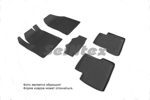 Коврики Jeep Cherokee V 13->  резиновый с выс. борт. (Seintex)   85770