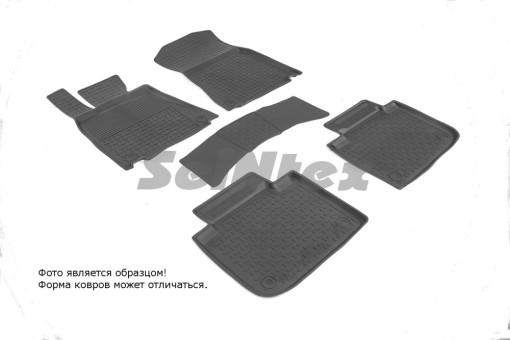 Коврики Lexus GS lV 12-> резиновый с выс. борт. (Seintex)