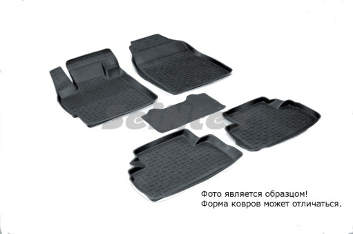 Коврики Mazda CX-7 07-> резиновый с выс. борт. (Seintex)   01292