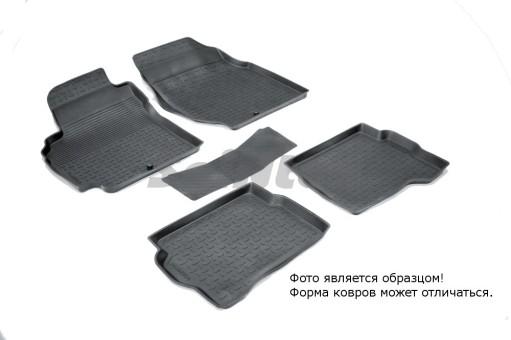 Коврики Nissan Almera Classic 06-> резиновый с выс. борт. (Seintex)   01240