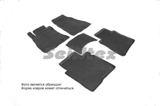 Коврики Nissan Sentra 14-> резиновый с выс. борт. (Seintex)   86070