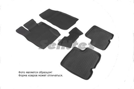 Коврики Nissan Terrano lll 14-> резиновый с выс. борт. (Seintex)   85961