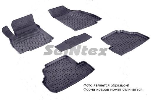 Коврики Opel Mokka 13-> резиновый с выс. борт. (Seintex)