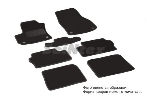 Коврики Opel Zafira C 12-> ворс Lux на рез. осн. Seintex