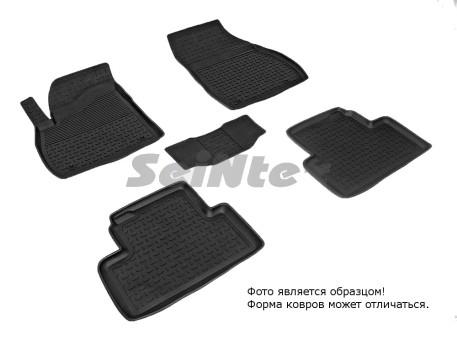 Коврики Opel Zafira C 12-> резиновый с выс. борт. (Seintex)
