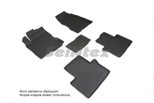 Коврики Renault Koleos 2011-> резиновый с выс. борт. (Seintex)