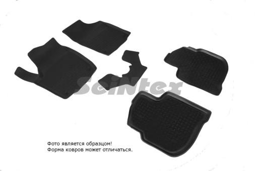 Коврики Skoda Rapid - резиновый с выс. борт. (Seintex)   85626