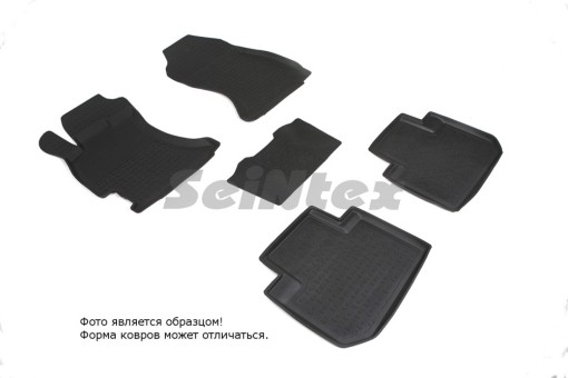 Коврики Subaru Forester IV 12->  резиновый с выс. борт. (Seintex)   85096