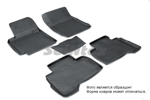 Коврики Suzuki Grand Vitara 5 дв. 05-> резиновый с выс. борт. (Seintex)   01481
