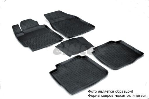 Коврики Toyota Camry 06-11г резиновый с выс. борт. (Seintex)