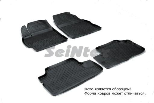 Коврики Toyota Corolla 2006-2013 г. - резиновый с выс. борт. (Seintex)   01030