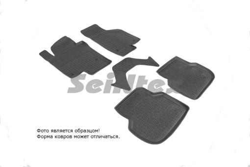 Коврики VW Jetta 2010->  резиновый с выс. борт. (Seintex)   82571