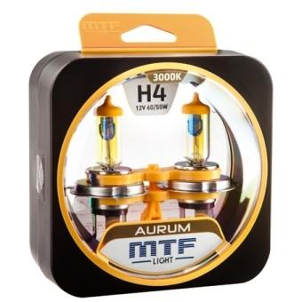 Лампы MTF Aurum H4 (12 V, 55/60 W, 2 шт)