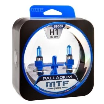 Лампы MTF Palladium H1 (12 V, 55 W, 2 шт)